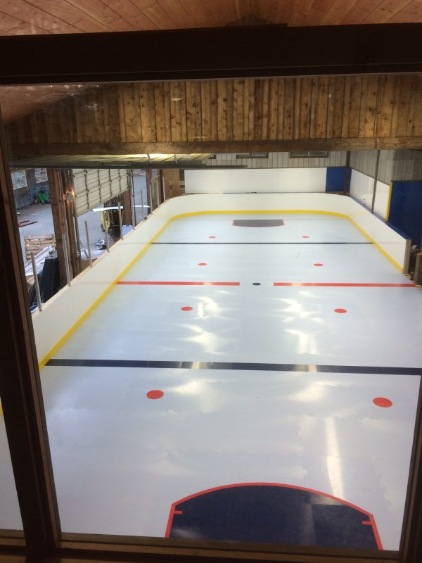 New synthetic ice product