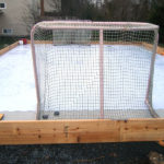 residential synthetic ice rink photos, synthetic ice rink, backyard ice rink