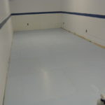basement rink, home rink, synthetic ice rink, residential synthetic ice rink photos