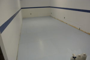 basement rink, home rink, synthetic ice rink, residential synthetic ice
