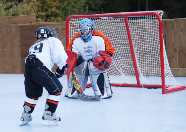 residential synthetic ice