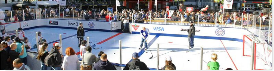 synthetic ice events, events with synthetic ice, synthetic ice testimonials,event synthetic ice rink videos