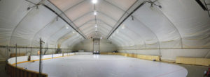 commercial synthetic ice, heavy duty synthetic ice, full size synthetic ice rink