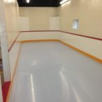synthetic ice rink, synthetic ice