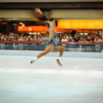 figure skating on synthetic ice