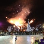 commercial synthetic ice rink, commercial synthetic ice,community rink