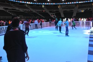 synthetic ice rentals