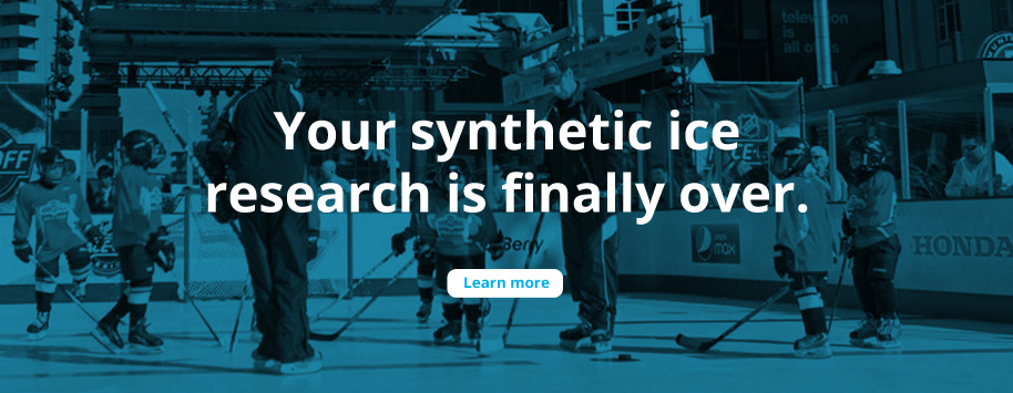 SmartRink Synthetic Ice Research