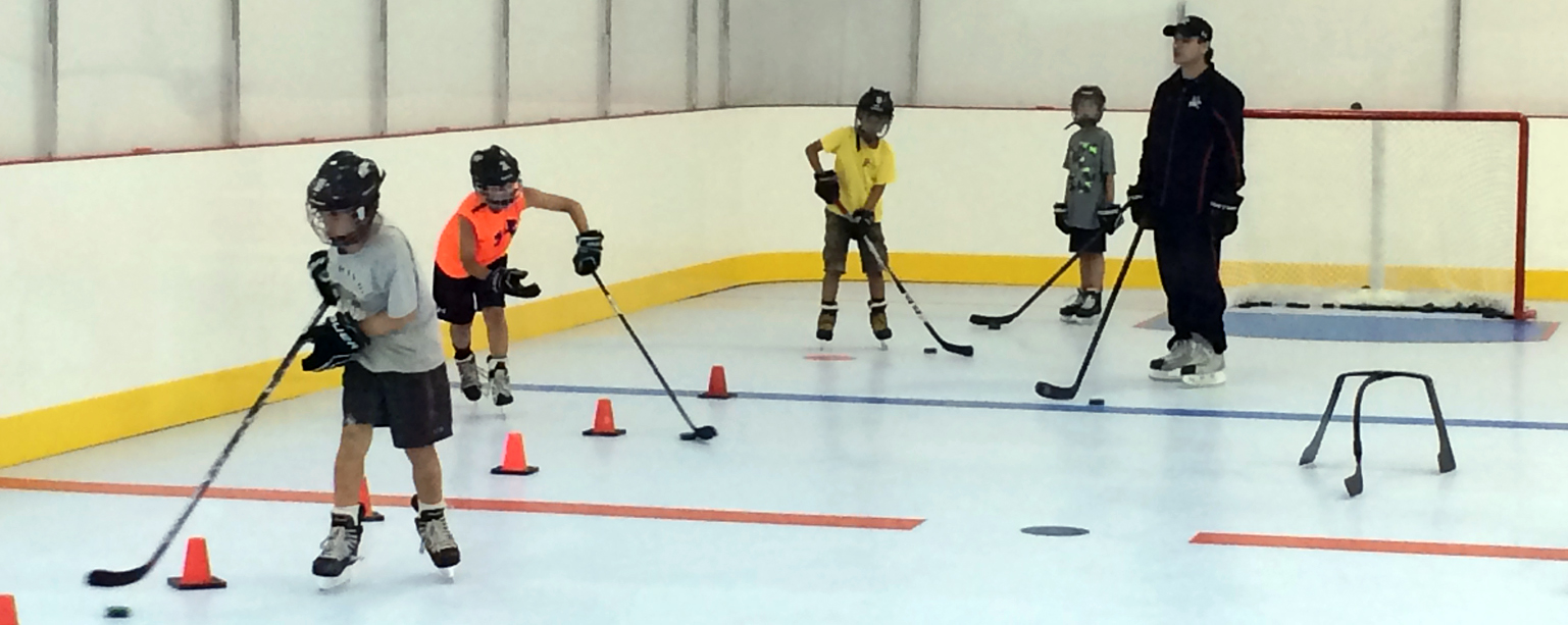training on synthetic ice