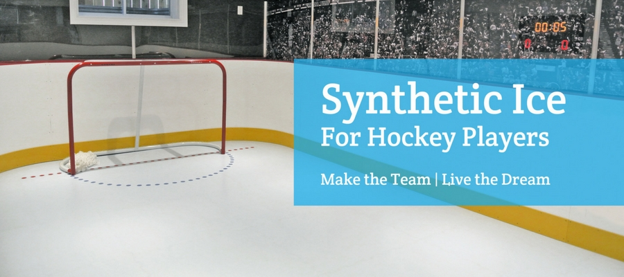 Synthetic Ice Rinks for Hockey Players