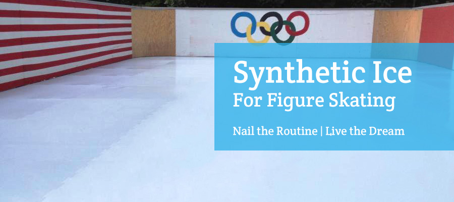 synthetic ice for figure skating training