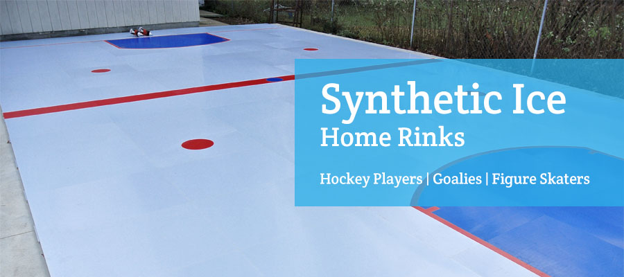 synthetic ice home rinks