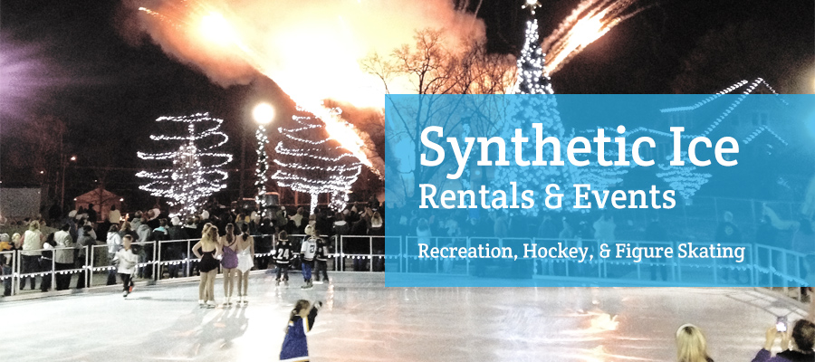 synthetic ice rentals and events