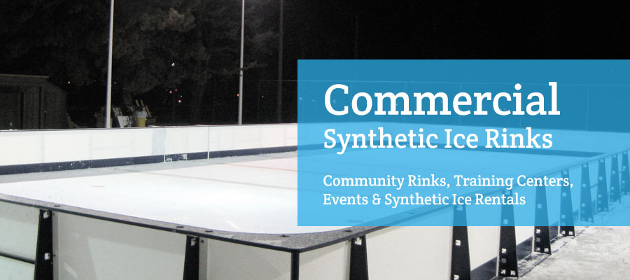 commercial synthetic ice rinks