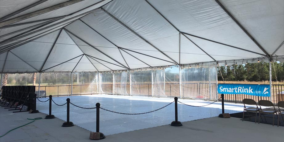 palm coast synthetic ice