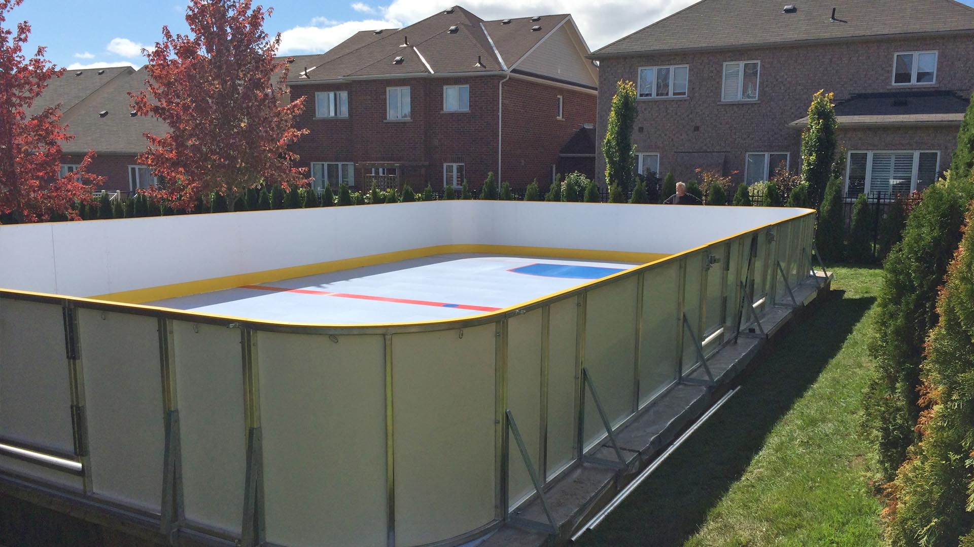 HOME SYNTHETIC ICE RINK