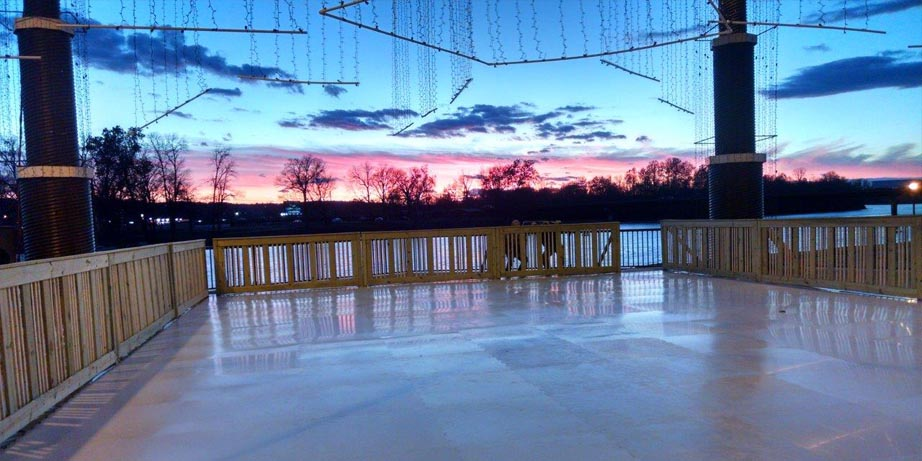synthetic skating rink in batesville