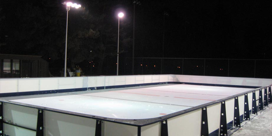 the donalda synthetic ice rink