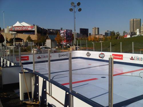 Synthetic Ice Hockey Rental