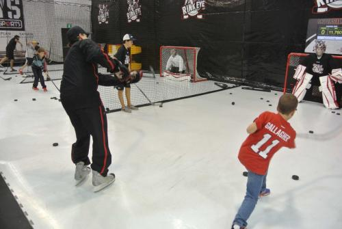 Hockey Shooting Practice