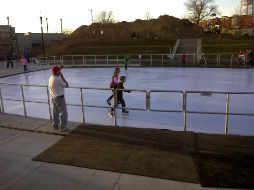 Learning to Skate on Synthetic Ice