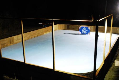 synthetic ice rink in BC