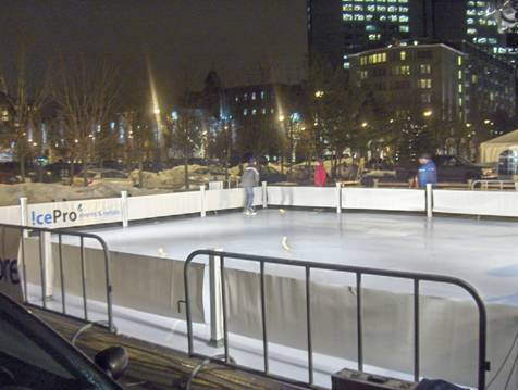 Community Synthetic Ice Surface