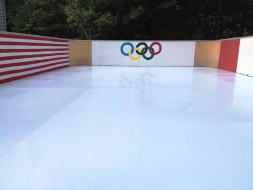 Synthetic Ice Figure Skating Rink