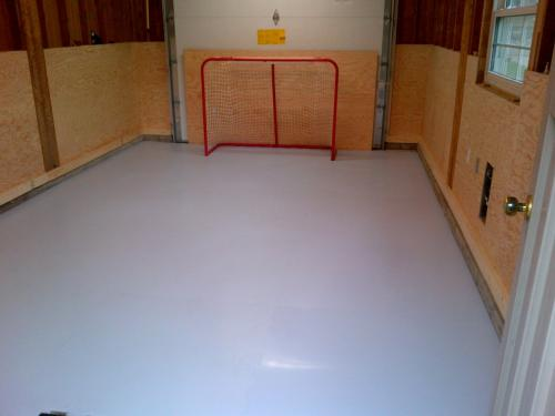 home synthetic ice rink in ontario